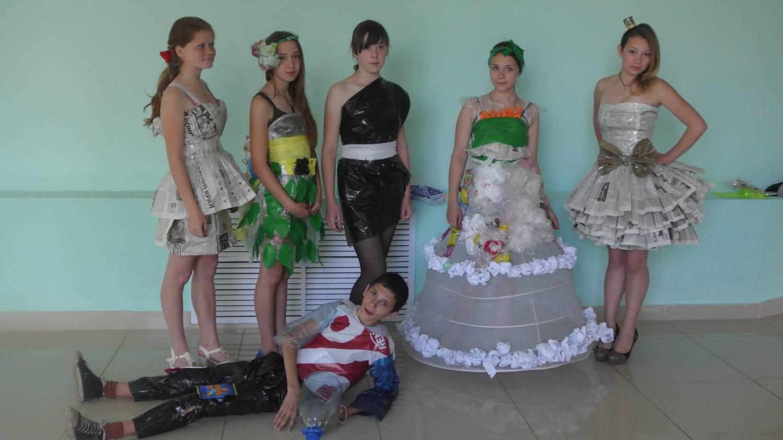 Платье своими руками для школьного конкурса 66